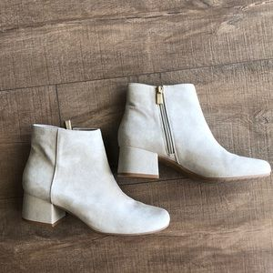 Kenneth Cole Leather Roadstop Booties